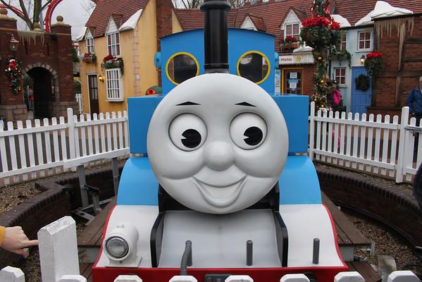 Christmas and Thomas Land 2012
