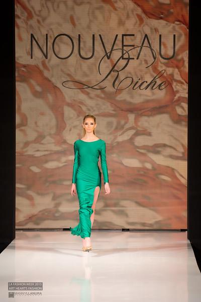 Nouveau Riche LA Fashion Week 2015 Art Hearts Fashion