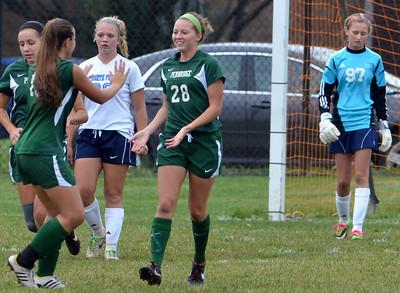 Pennridge vs North Penn girls soccer 10-16-2013