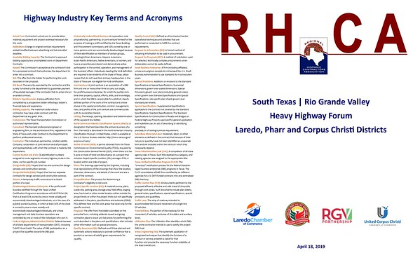 South Texas | Rio Grande Valley Heavy Highway Forum