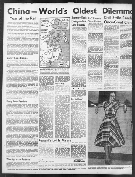 Daily Trojan, Vol. 39, No. 96, March 10, 1948