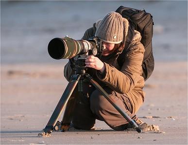 Photographers, birdwatchers and etc.