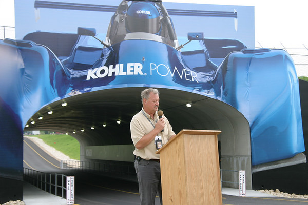 Kohler Tunnel Dedication