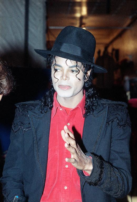 . Singer Michael Jackson is shown in 1989.      (AP Photo)
