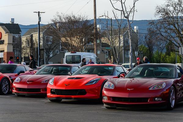 2020 SCC Corvettes and Coffee - San Jose - February