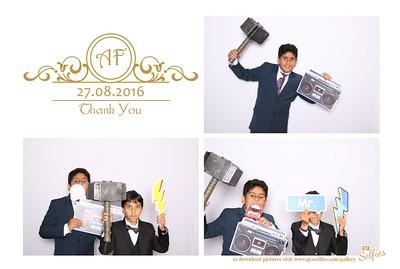 Asad and Fatima Wedding Reception