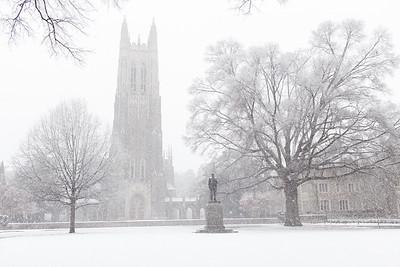 Duke Snow 1/17/18