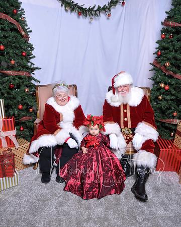 Week two Santa Claus Portraits