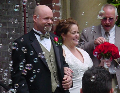 2005 Donna & Paul's wedding