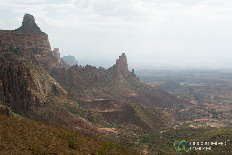 Gheralta Mountains Landscapes, Late Afternoon - Tigray, Ethiopia