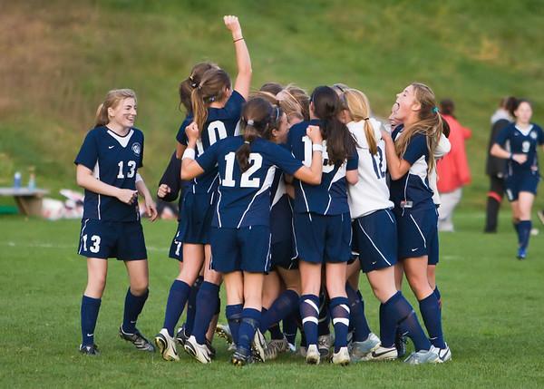 10/6/08 - Nobles Girls Varsity Soccer vs Rivers