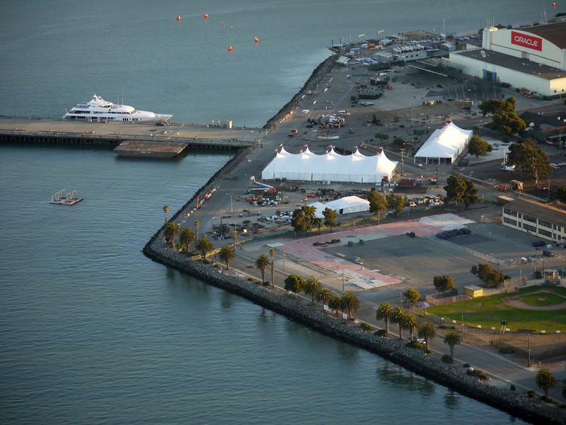 A private event on Treasure Island.