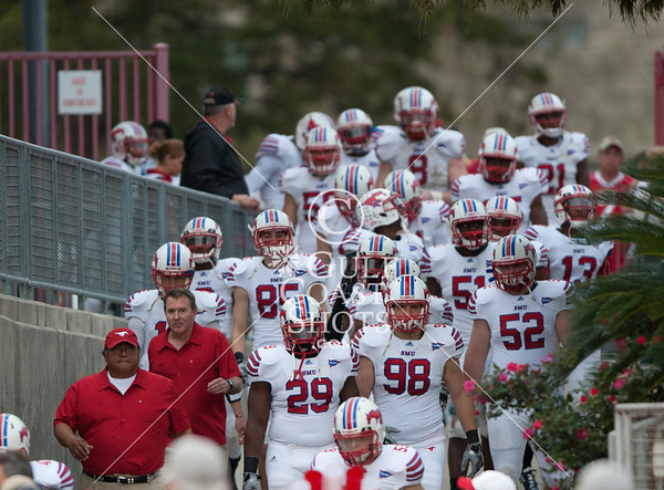 2011-11-19 Football NCAA SMU @ UH - 2nd Half