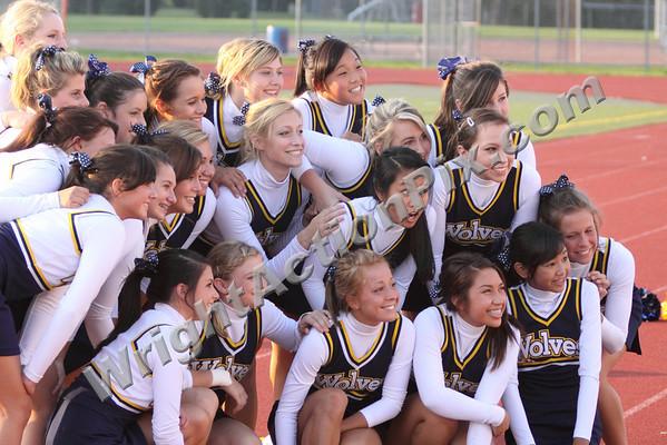 2009 09 04 Varsity Cheer at Troy Athens