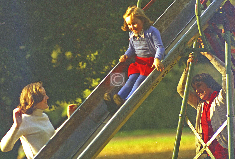Things To Do In the Queen's Park, no.10 - Go on the slides.