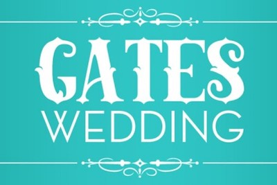 Gates Wedding 10/17/15