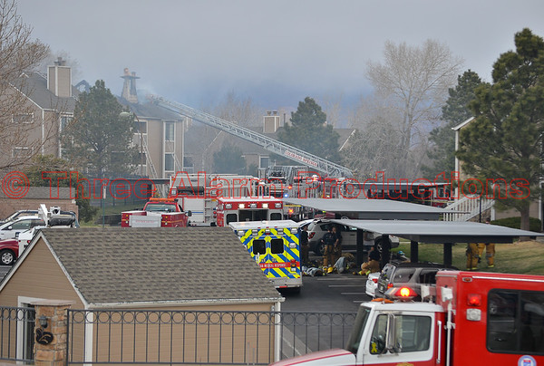 Three Alarm Apartment Fire-Colorado Springs Fire Department