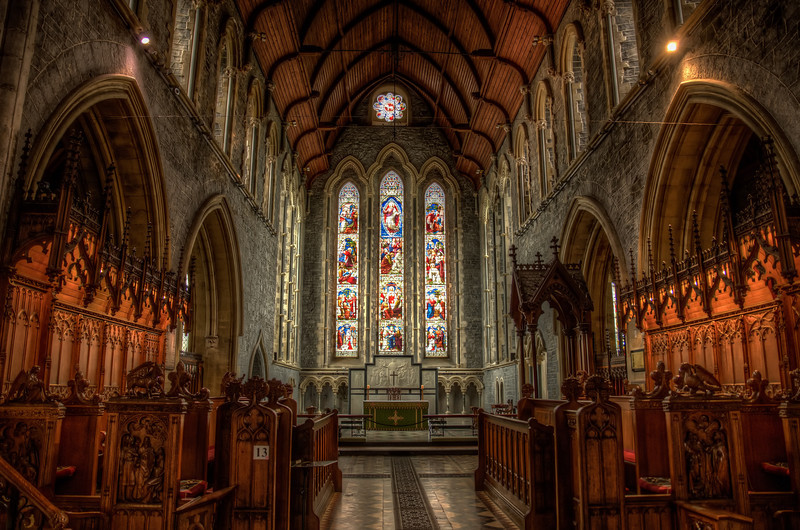 Inside St. Canice Cathedral
