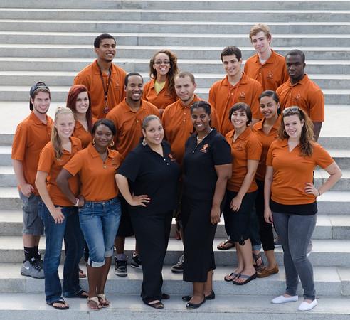2012-2013 Residence Life Staff