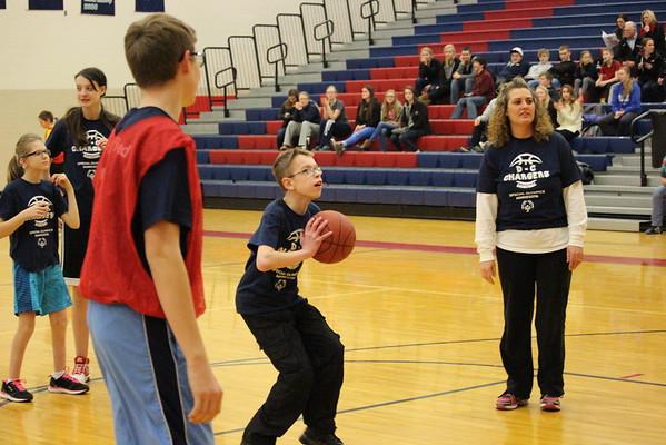 DC Unified Basketball vs. Hutchinson, 2-25
