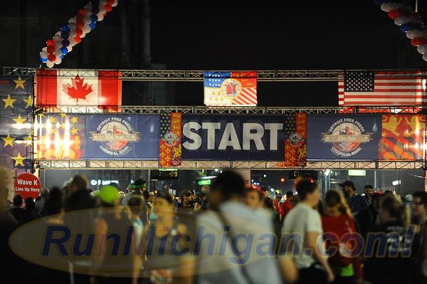 Pre-Race - 2017 Detroit Free Press Marathon