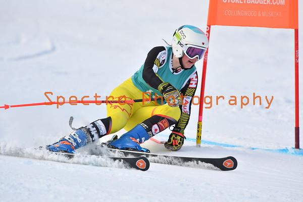 OFSAA Alpine 2020 - Open GS - Girls