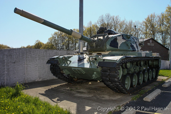 AMVETS Post 32 - Elyria, OH - M60A3