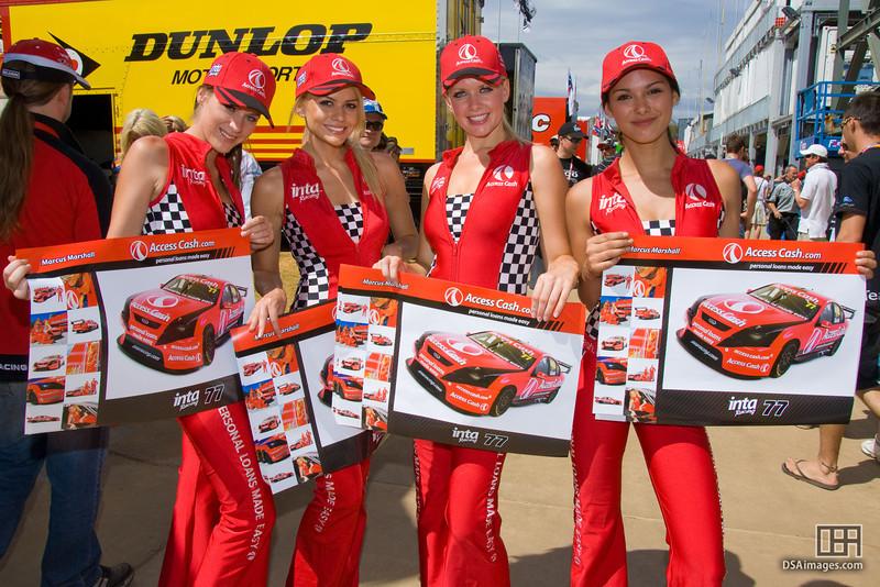 The Access Cash team girls