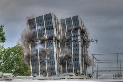 5/19/19- Martin Tower Implosion