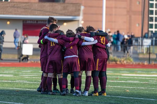 2018_11_10 GMHS Varsity boys soccer vs Plainville quarterfinal