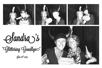 Sandra's Glittering Good-Bye - 10th Jan 2015