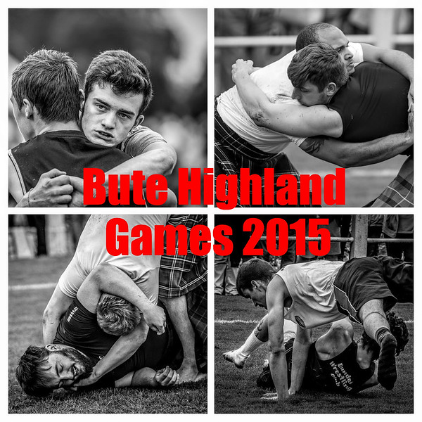The 2015 Bute Highland Games