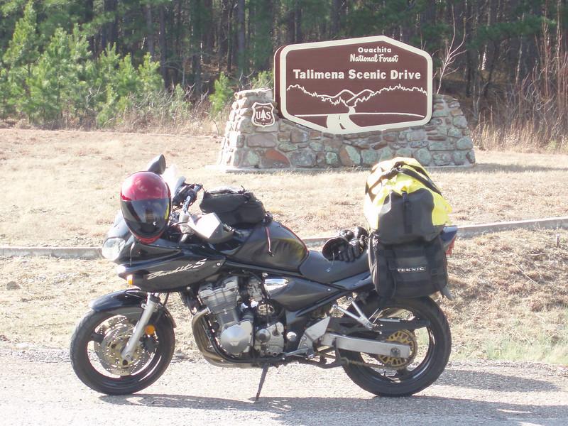 Talimena Scenic Drive, Oklahoma Highway 1