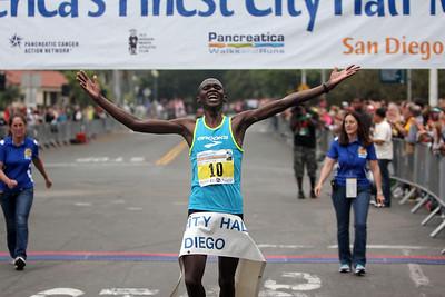 America's Finest City Half Marathon 2013