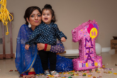 Mia's First Birthday
