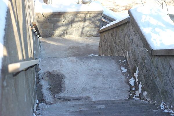 10 January 2021 Winter Walk up Mont Royal