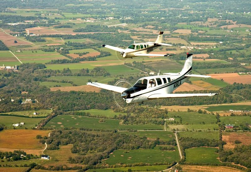 Beechcraft Bonanza in Formation Six.jpg