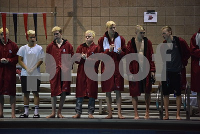 Fort Dodge Boys Swimming 2018 District