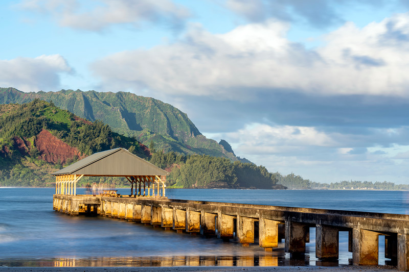 First Light on Hanalei Pier