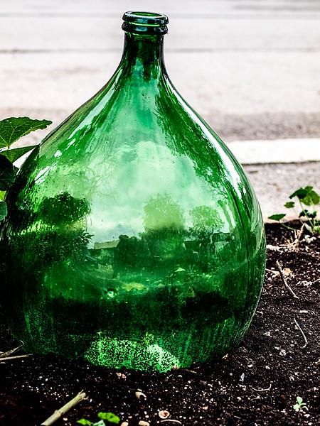 A bottle at Pietro Zito's Antichi Sapori in Montegrosso