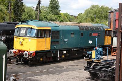 33102 - Churnet Valley Railway, 2nd June 2013