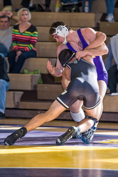 Nov 24, 2013 San Francisco State University Gators hosted the Cal Poly Mustangs in a non-conference match where Cal Poly pulled out a hard fought tie-breaker decision over the host Gators 16-15: 165lbs - Sohrab Movahedi (CP) won by 13-7 dec.  over Vicente Aboytes (SF State)