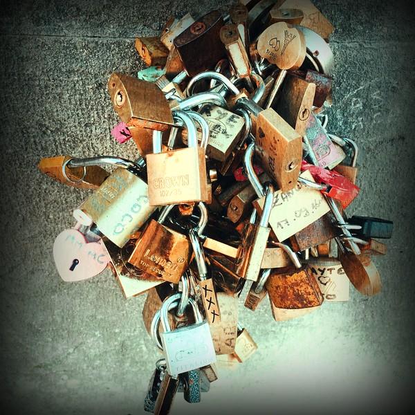Love Locks by River Seine