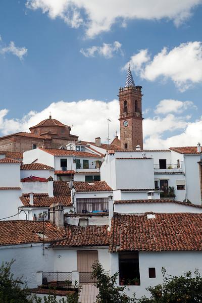 Town of Casta–o del Robledo, province of Huelva, Andalusia, Spain