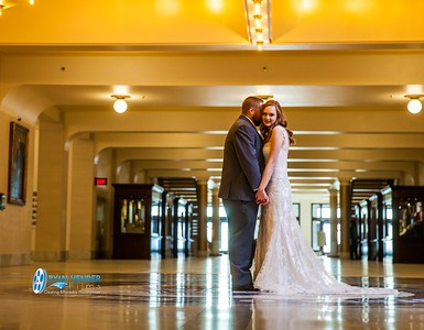 Ashley + Austin Bridals & First Look