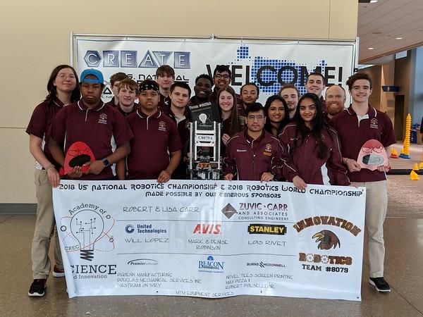 CREC Robotics team