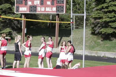 7th & 8th Grade Coed Track - 4/19/2006 White Cloud
