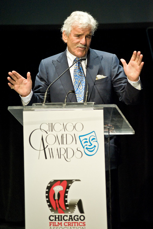 . Dennis Farina attends the 23rd Annual Chicago Film Critics Awards at the Broadway Playhouse at Water Tower Place on January 7, 2012 in Chicago, Illinois.  (Photo by Timothy Hiatt/Getty Images)