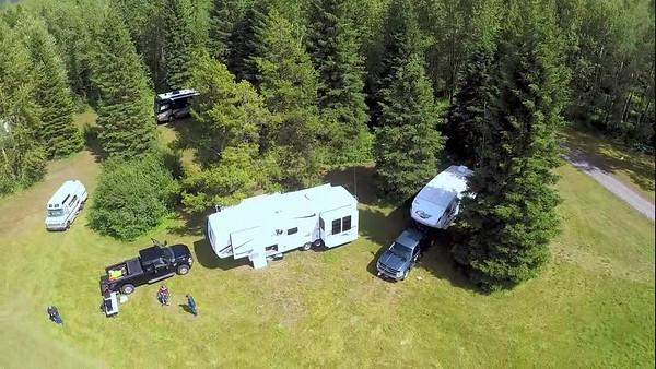 Glacier-Waterton Ham Fest Drone Videos