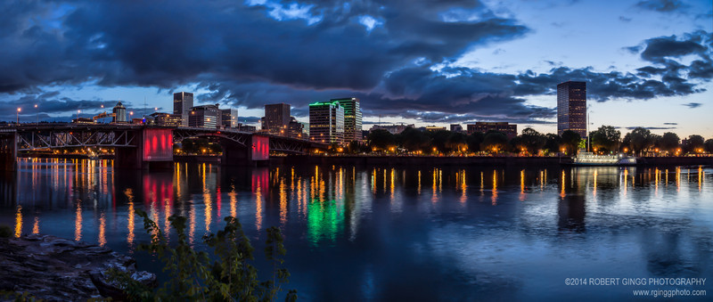 Evening in Portland, Oregon